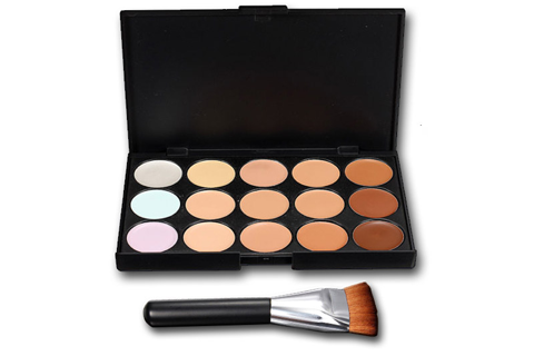 Kit contouring Brush