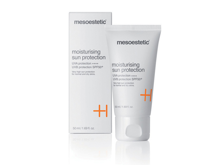 Mesoestetic : Moisturising sun protection